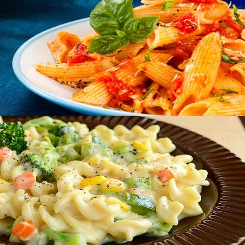 Enjoy your evening tea with yummy Pasta