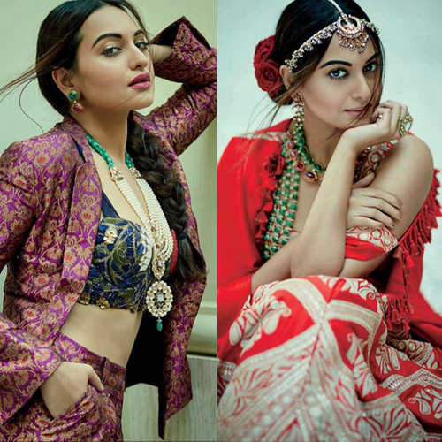 Sonakshi Sinha's take on modern Indian bridal look for this season, sonakshi sinha`s take on modern indian bridal look for this season,  sonakshi sinha on the cover of femina india 2016,  sonakshi sinha`s modern indian bride on the cover of femina,  sonakshi sinha latest photoshoot,  fashion tips,  ifairer