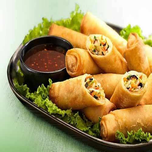 how to cook spring rolls at home