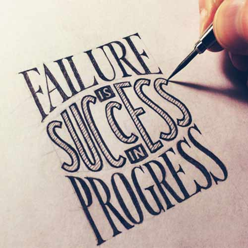 How failures help you to grow