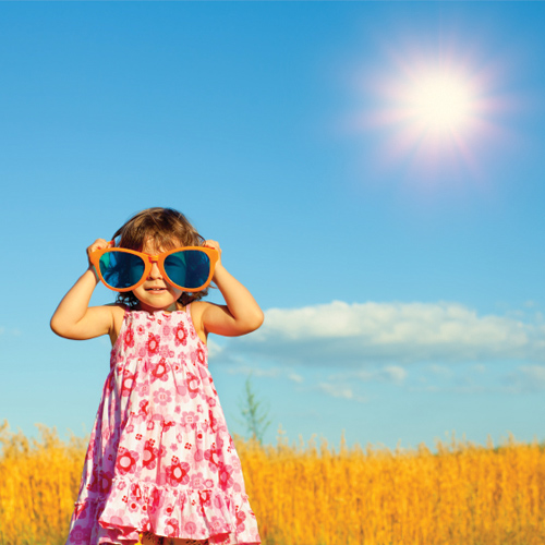 Sunshine reduces the risk of myopia in kids