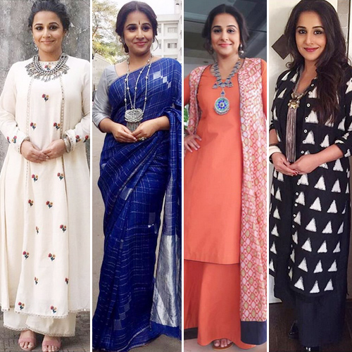 Vidya Balan's Kahaani 2 promotion was a royal affair, in 20 outfits