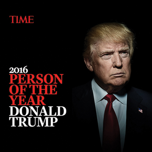 Donald Trump declared TIME Magazine`s Person of the Year