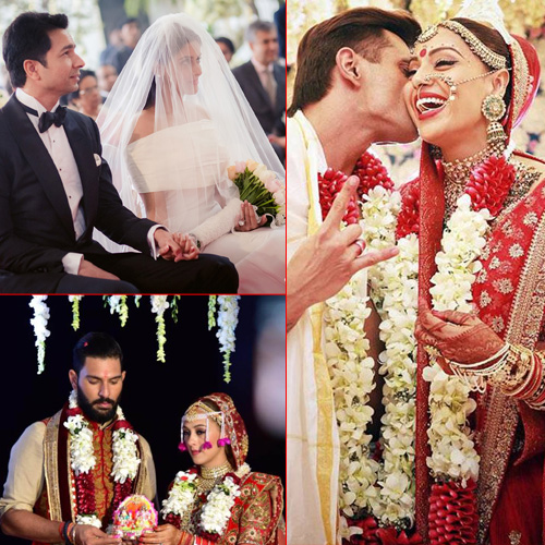 Bollywood celebs who got hitched in 2016, bollywood celebs who got hitched in 2016,  famous indian celebrity weddings of 2016,  bollywood wedding 2016,  celebrity couples tied the knot in 2016,  bollywood news,  bollywood gossip,  flashback 2016,  ifairer