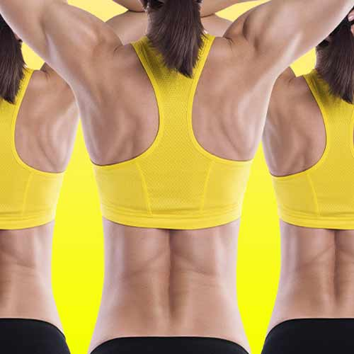 5 Exercises to get rid of stubborn Back fat , 5 exercises to get rid of stubborn back fat,  how to get rid of back fat,  exercise to get rid of back fat,  exercises for burning back fat,  ifairer
