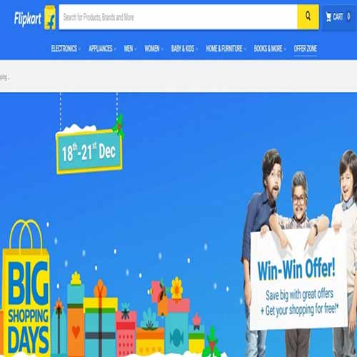 Flipkart is back with its Big Shopping Days sale, flipkart is back with its big shopping days sale,  sale on flipkart,  e-commerce sale,  big shopping days sale of flipkart,  ifairer