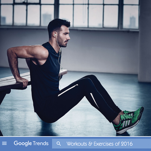 Google`s Most Searched Workouts and Exercises of 2016, google`s most searched workouts & exercises of 2016,  google`s most searched exercises,  most searched exercises of 2016,  workouts & exercises,  fitness and exercise,  flashback 2016,  ifairer