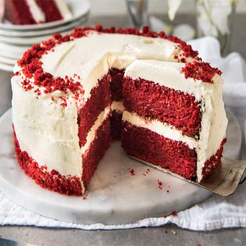 Christmas Special Cake Images : Christmas Special: Red Velvet Cake recipe Slide 2, ifairer.com