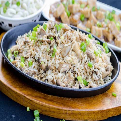 Cook yummy 5 Spice mushroom rice at home, cook yummy 5 spice mushroom rice at home,  main course recipe,   how to cook  5 spice mushroom rice at home,  recipe of 5 spice mushroom rice,  chinese dish,  ifairer