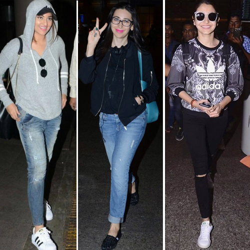 Airport diaries of celebs: To wear this winter, airport diaries of celebs: to wear this winter,  airport look of celebs,  casual look of celebs,  fashion tips,  bollywood fashion style,  bollywood fashion statement,  fashion trends 2017,  ifairer