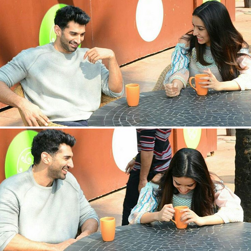 Shraddha-Aditya's romantic coffee date at the beach , shraddha kapoor-aditya roy kapur`s romantic coffee date at the beach,  ok jaanu couple shraddha-aditya are great buddies,  shraddha kapoor,  aditya roy kapur,  bollywood upcoming movie,  ok jaanu,  bollywood news,  bollywood gossip,  ifairer