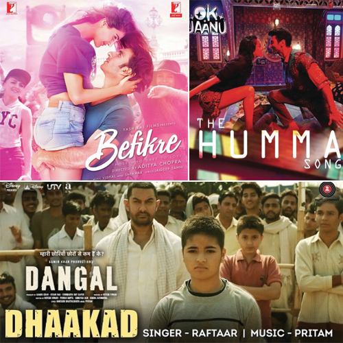 Top 10 Bollywood Chartbusters of 2017: Nashe Si Chadh rules week 1, top 10 bollywood chartbusters of 2017: nashe si chadh rules week 1,  top 10 bollywood chartbusters of week 1 2017,  top bollywood songs of january week 1,  bollywood,  entertainment,  ifairer
