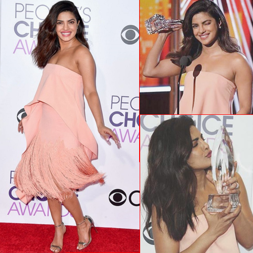 Priyanka wins second People's Choice Award for Quantico, priyanka chopra wins second people`s choice award for quantico,  priyanka chopra,  hollywood news,  hollywood gossip,  ifairer