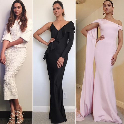 Deepika Padukone's look-book, steal the limelight at hollywood