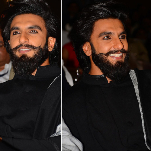 Only Ranveer can wear eyeliner and look manly