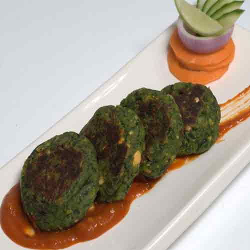 Tea time snack: Hara Bhara kebabs