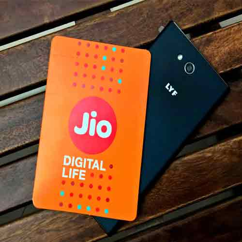 What! 42 percent smartphones have primary data connection of Reliance Jio , 42 percent smartphones have primary data connection of reliance jio,  reliance jio has become network of india,  reliance jio and its usage,    ifairer