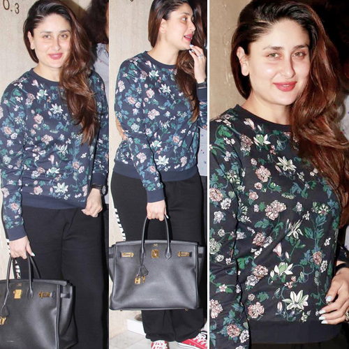 Kareena Kapoor Khan in a perfect black dress
