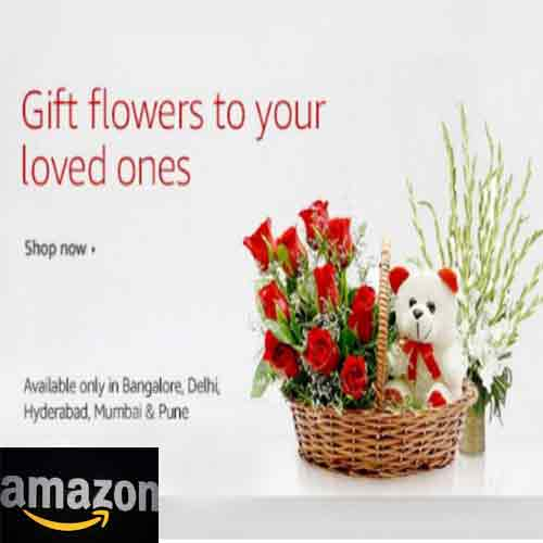 Amazon India Launches Fresh Flowers Stores, amazon india launches fresh flowers stores,   check out fresh flowers stores by amazon india,  amazon india started facility of delivering fresh flowers,   amazon india launches new product line with fresh flowers stores,  ifairer