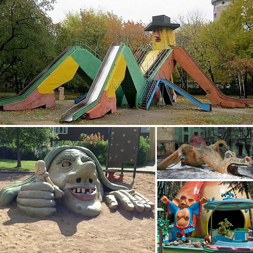 18 Creepiest playgrounds in the world revealed , 18 creepiest playgrounds in the world revealed,  amazing playgrounds in the world revealed,  amazing places,  bizarre playgrounds,  ifairer