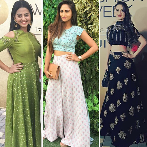 Lakme Fashion Week 2017: TV actress walk the ramp in stylish way, lakme fashion week 2017: tv actress walk on the ramp,  lakme fashion week 2017,  tv actress ramp walk, tv celebs traditional look,  fashion trends 2017,  ifairer
