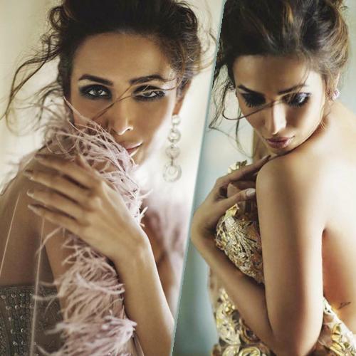 Malaika Arora`s enchanting look at Harper`s Bazaar Bride