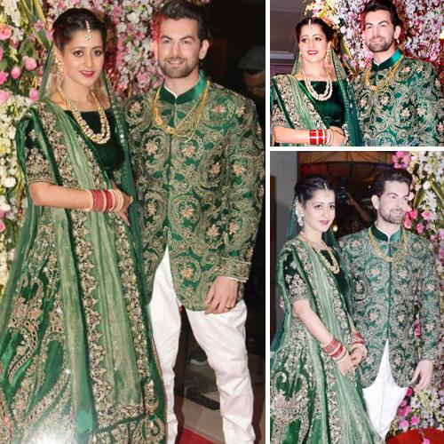 Neil Nitin Mukesh-Rukmini Sahay`s lavish wedding reception