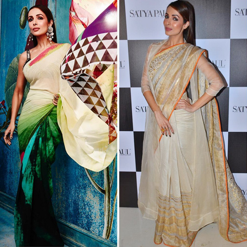 Flaunt your curves in saree a perfect manner, know how, flaunt your curves in saree a perfect manner,  know how,  malaika shows how a saree can make women look sexier,  flaunting your curves in a perfect artistic manner,   fashion tips for saree,  malaika arora khan latest photo shoot for satya paul,  ifairer