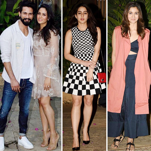 Shahid pre-birthday bash: Celebs steal the limelight, shahid kapoor pre-birthday bash: celebs steal the limelight,  shahid kapoor pre-birthday bash, deepika padukone,  katrina kaif,  ranveer singh,  varun dhawan,  alia bhatt,  sidharth malhotra and sonakshi sinha,  bollywood news,  bollywood gossip,  ifairer