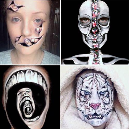 In 9 pics:Optical illusion makeover