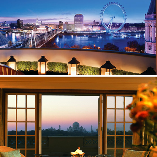 Amazing Views from the hotels around the world