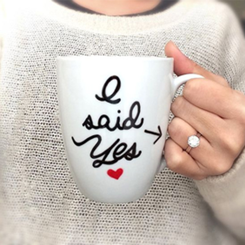 Say it loud 'YOU ARE ENGAGED' with these Mugs , say it loud you are engaged with these mugs,  different way to show that you are engaged,  unique ideas of saying you are engaged,  unique ideas to say you are in relationship,  how to show on social media about your engagement,  ifairer