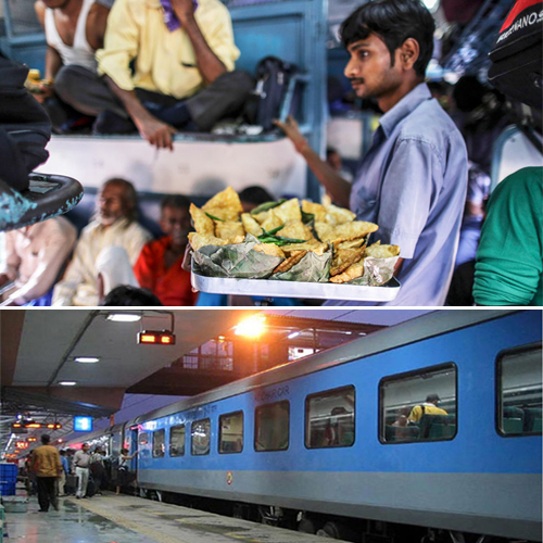 Food items one can enjoy at Railway Stations of India