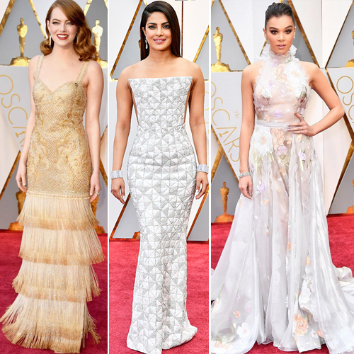 Oscars 2017: 7 Eye-catching red carpet appearances , oscars 2017: 7 eye-catching red carpet appearances,  oscars 2017,   priyanka chopra red carpet look is reminiscent of a fairytale,  oscars 2017 the boldest red carpet appearances,  89th oscar 2017,  hollywood news,  hollywood gossip,  ifairer