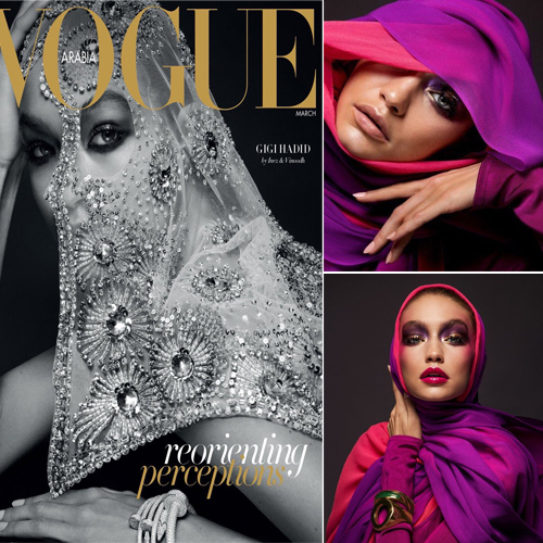Gigi Hadid Wore A Hijab On Vogue Arabia Faces Criticism Slide 1