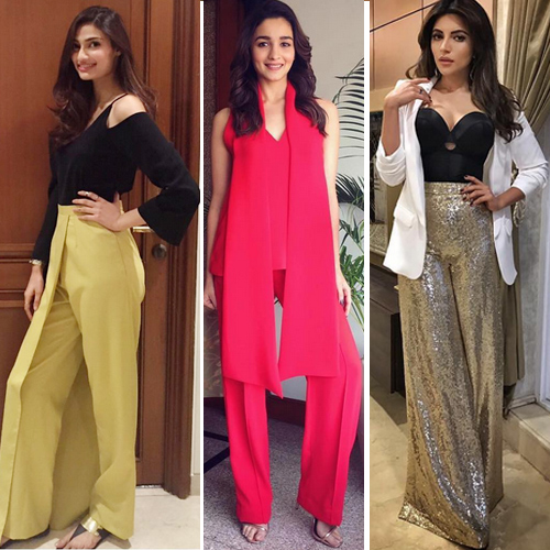 Loose pants are trending and ruling fashion industry