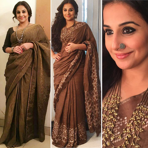 Bollywood ladies are currently obsessing 7 unique Saree trend , bollywood ladies are currently obsessing 7 unique saree trend,   bollywood actresses in saree and blouse,  saree moments of bollywood actress that we love,  fashion accessories,  fashion trends 2017,  #fashion trends,  fashion statement,  ifairer