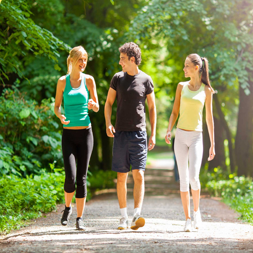 Learn to reduce weight Faster through Walking