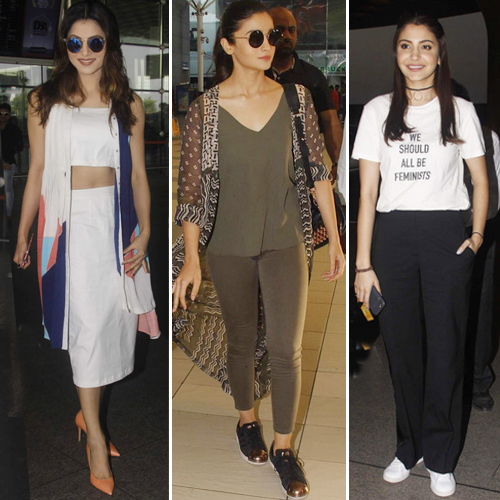 Airport Looks Celebrities S 7 Best Fashionable Outfits Slide 1