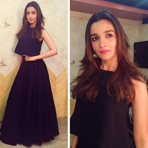 Alia Bhatt`s wardrobe is high on Fashion, trendy and classy outfits