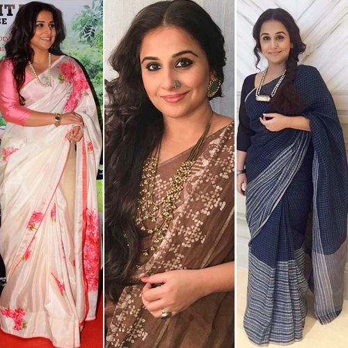 Vidya Balan`s classy accessories for ethnic wear