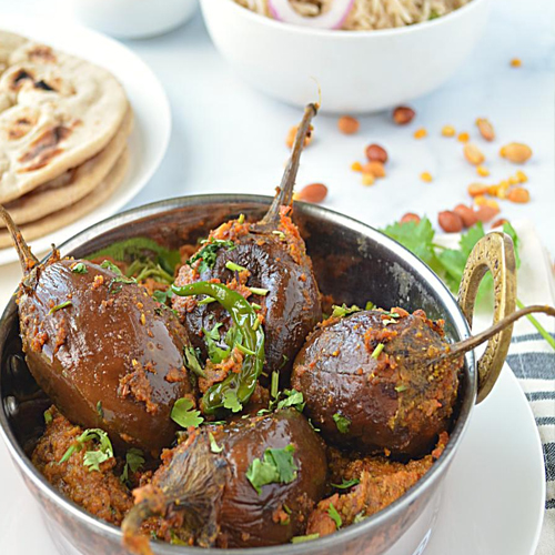 Recipe to make Bharwa Baigan