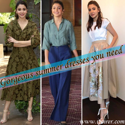 Anushka Sharma`s #OOTD at Phillauri promotions: trends for summer