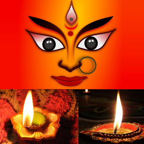 Why do devotees light