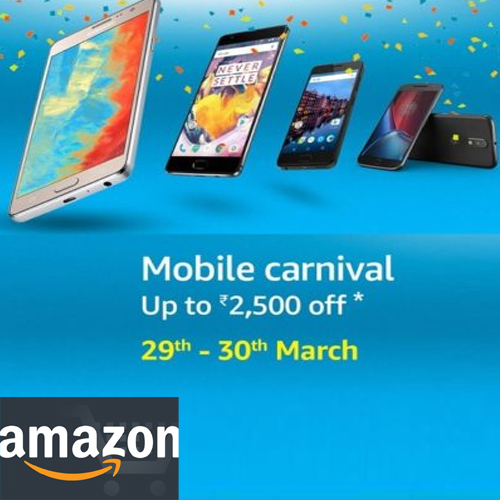 Amazon India offers deals on various smartphones , amazon india offers deals on various smartphones,  various offers on smartphones by amazon india,  check out these discounts and  deals on various smartphones  by amazon india offers,  mobile carnival by amazon india,  ifairer