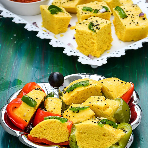 How to make Khaman Dhokla at home in 4 different ways