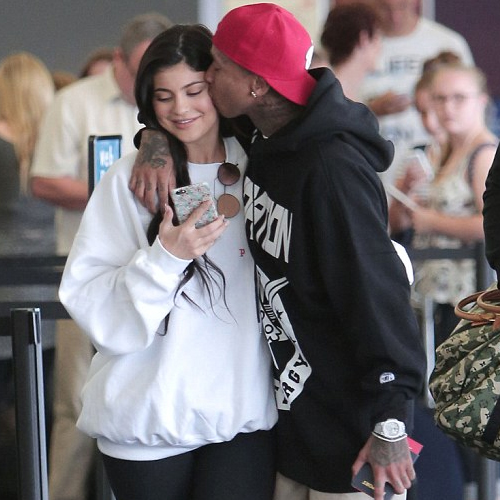 Kylie Jenner supports Tyga's new music amid split