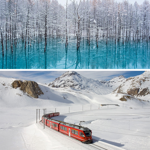 Covered with Snow; Breathtaking places in the world, check out these places covered with snow,  breathtaking places in the world which are covered with ice,  visit these amazing places that covered with snow,   breathtaking places in the world offering fantastic views,  ifairer