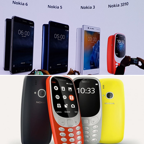 Nokia 3310, 3, 5 and 6 devices to launch globally this month, nokia 3310,  3,  5 & 6 devices to launch globally this month,  nokia 3310,  nokia 3,  nokia5,  nokia 6,  nokia new smartphone,  gadgets,  technology