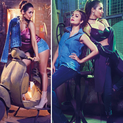 Too hot to handle - The Arora sisters soaring temperature on Hi!Blitz, too hot to handle - the arora sisters soaring temperature on hi!blitz,  malaika arora and amrita arora photoshoot for hi! blitz magazine india march-april 2017,  malaika and amrita hot photoshoot,  fashion trends 2017,  ifairer
